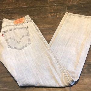 "Levi's 514 Jeans. 32""w by 34""L."